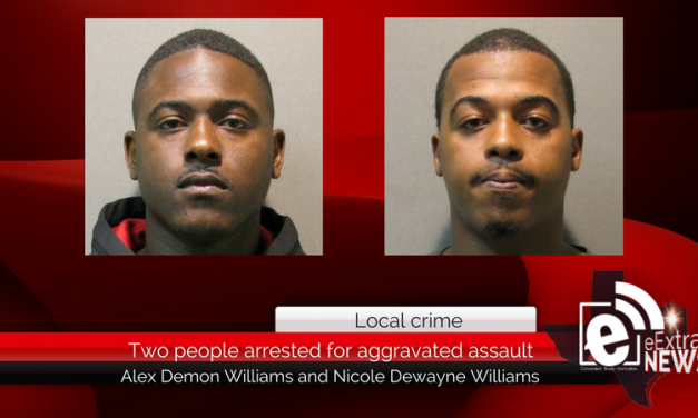Two people accused of aggravated assault with a deadly weapon earlier this month are in jail