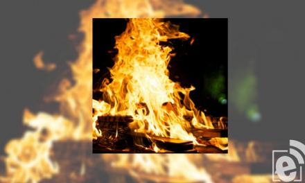 Prescribed burn north of Pat Mayse Lake