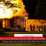 Powderly home deemed total loss after electrical fire