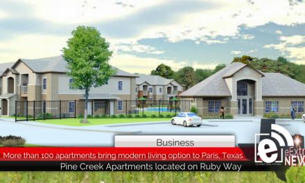 More than 100 apartments bring modern living option to Paris, Texas