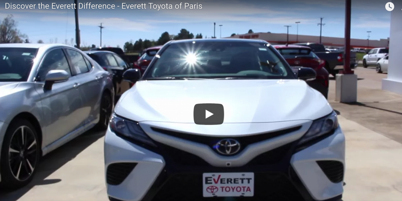 Discover the Everett Difference – Everett Toyota of Paris