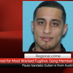 Regional crime: Reward offered for Most Wanted Fugitive, Gang Member