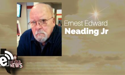 Ernest Edward Neading Jr. of Bogata, Texas