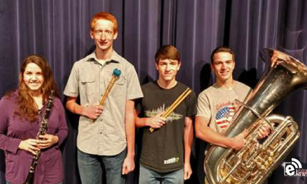 Music scholarships awarded to NLHS band students