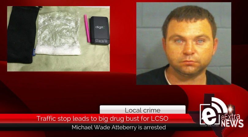 Traffic stop leads to big drug bust for LCSO