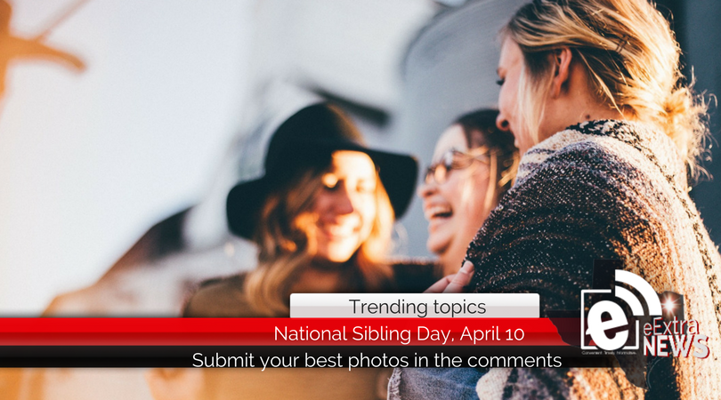 Show us your best photos in honor of National Siblings Day