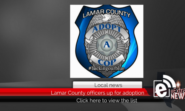 Lamar County officers up for adoption, click here to view the list • Updated 12:30 p.m.