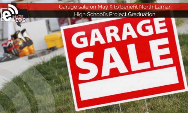 Garage sale to benefit North Lamar High School's Project Graduation