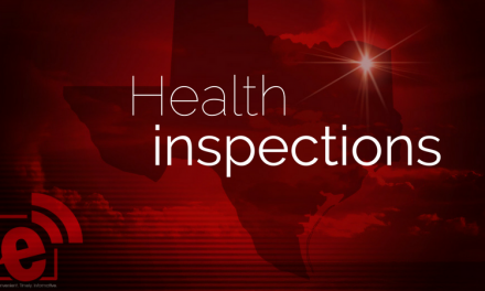 Health inspections through April 25, 2018