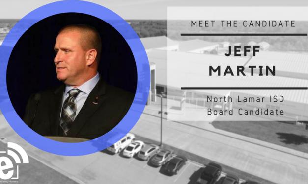 Meet the Candidate: Jeff Martin
