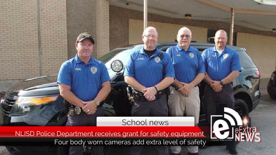 NLISD Police Department receives grant for safety equipment
