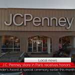 JC Penney in Paris receives company's highest distinction