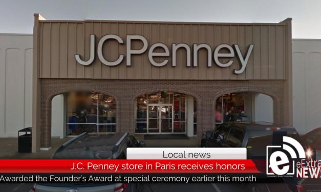 JC Penney in Paris receives company's highest distinction