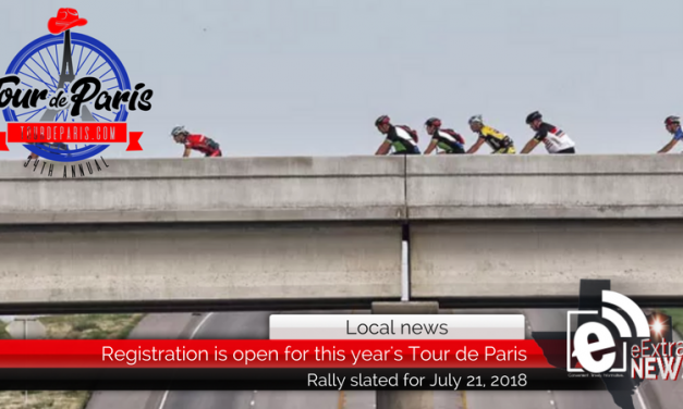 Tour de Paris bicycle rally is slated for July 21, 2018