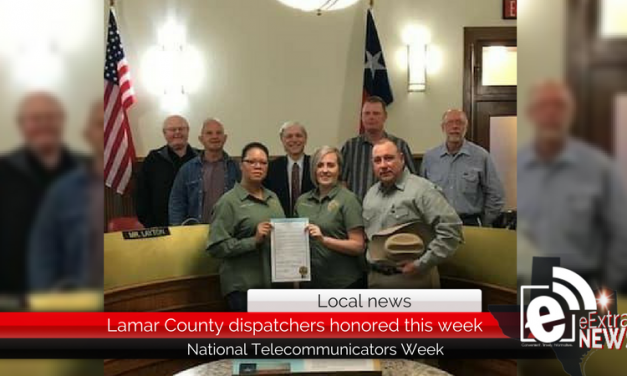 Lamar County dispatchers honored this week