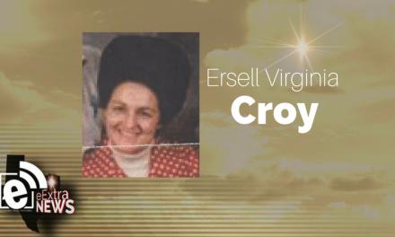 Ersell Virginia Croy of Paris, Texas