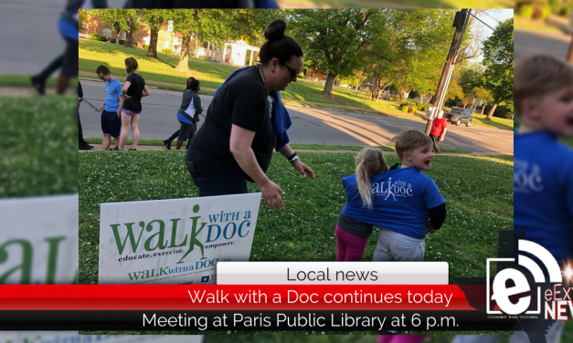 Walk with a Doc continues today at 6 p.m.