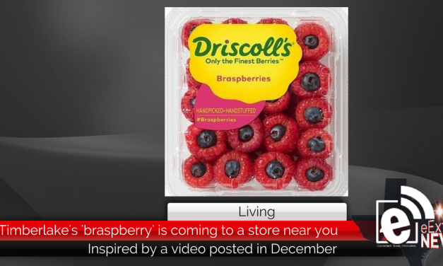 Timberlake's braspberry is coming to a grocery store near you