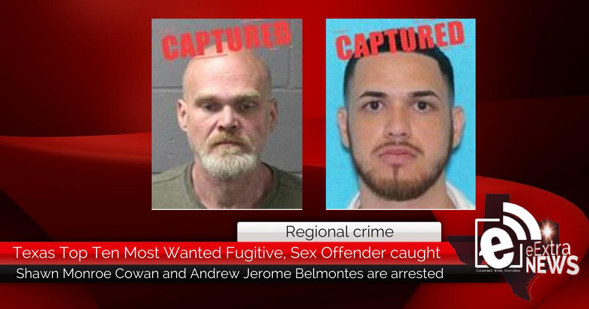 Top Ten Most Wanted Fugitive, Sex Offender caught