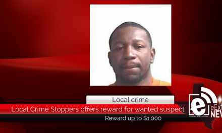 Local Crime Stoppers offers reward for wanted suspect
