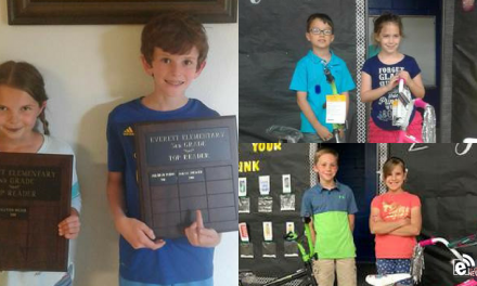 Everett holds end-of-year awards ceremonies