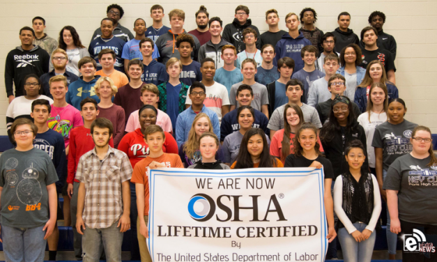 Paris High School students complete 10-hour OSHA training course