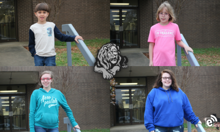 Roxton ISD students of the month for May