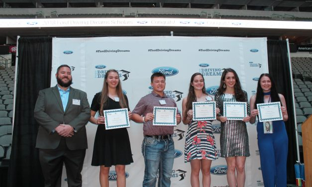 Five Lamar County Students receive scholarships from Paris Ford/Lincoln