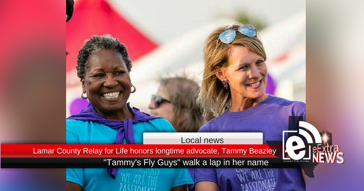 Lamar County Relay for Life honors longtime advocate, Tammy Beazley