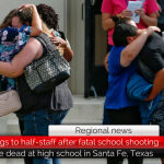 Abbott orders flags to half-staff in memory of those involved in Santa Fe High School shooting