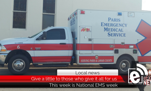 Give a little for those who give it all – This week is National EMS week