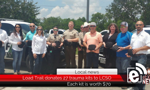 Lamar County Sheriff's Office receives 27 trauma packs from Load Trail