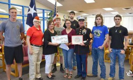 NLHS's Grogan awarded Sgt. Jay M. Hoskins Scholarship