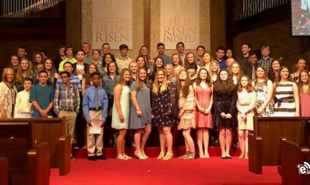 North Lamar students inducted into NJHS