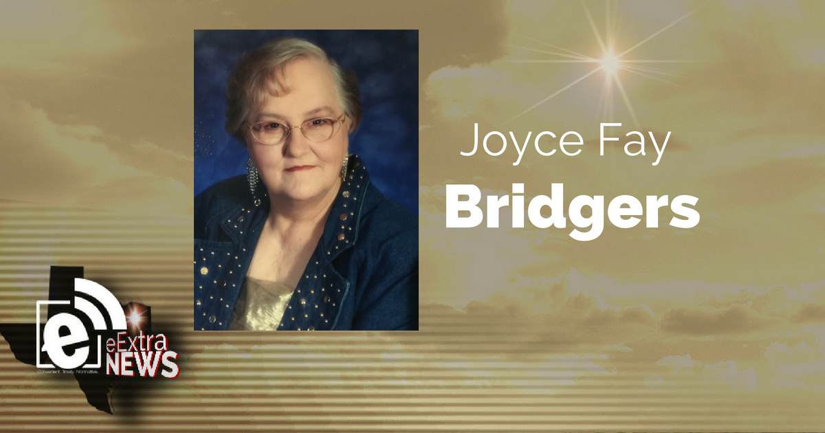 Joyce Fay Bridgers of Orange, Texas