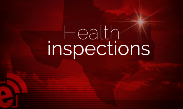 Health inspections through May 10, 2018