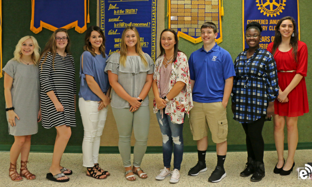 Rotary Club of Paris United awards scholarships to PJC