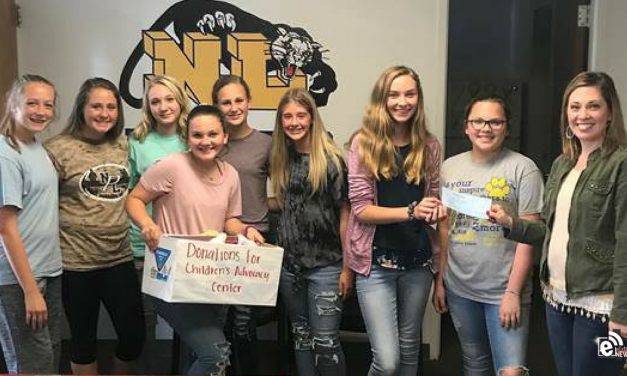 Stone NJHS makes donation to CAC