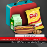 Free summer meals for children in Lamar County
