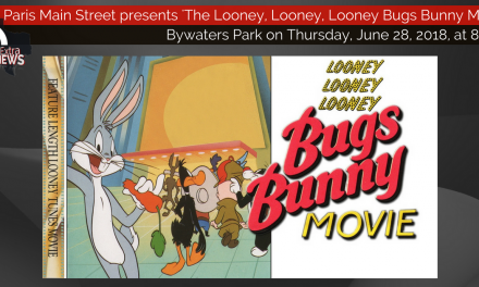Movies in the Park presents 'The Looney, Looney, Looney Bugs Bunny Movie' tonight at 8 p.m.