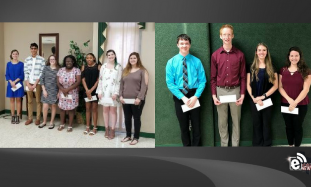 Paris and North Lamar students receive Kiwanis Scholarships