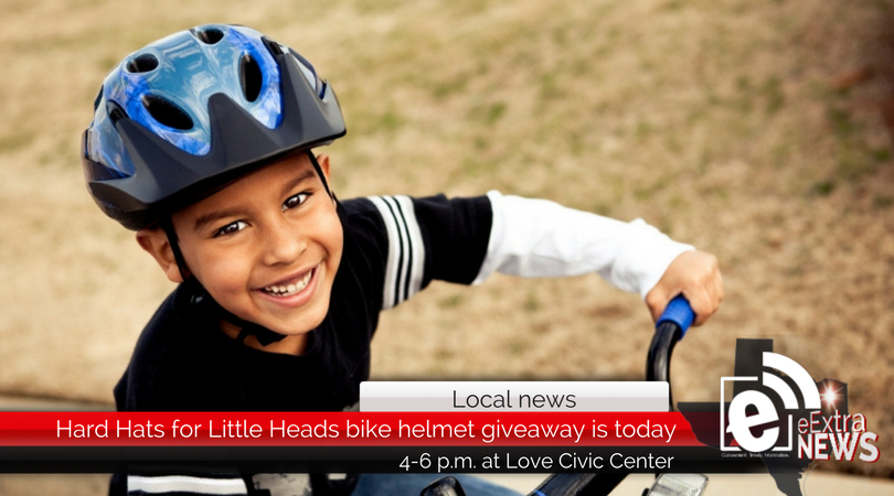 Hard Hats for Little Heads bike helmet giveaway is today