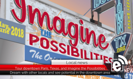 Imagine the Possibilities in downtown Paris, Texas