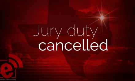 Jury duty is cancelled for district court Wednesday, May 23, 2018