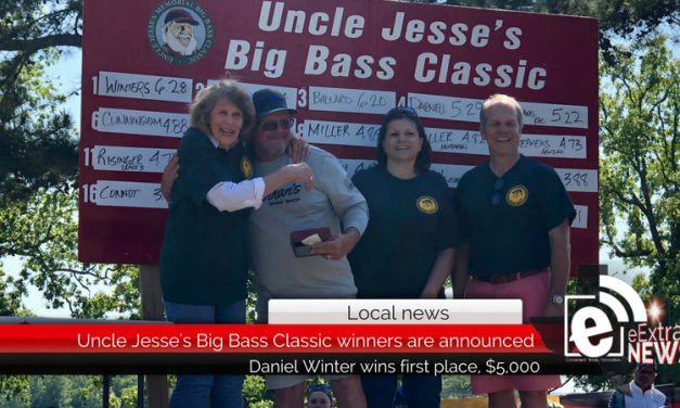 Uncle Jesse's Big Bass Classic winners are announced