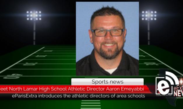 Meet North Lamar High School Athletic Director Aaron Emeyabbi