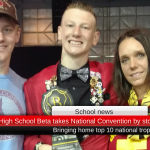Prairiland High School Beta takes National Convention by storm