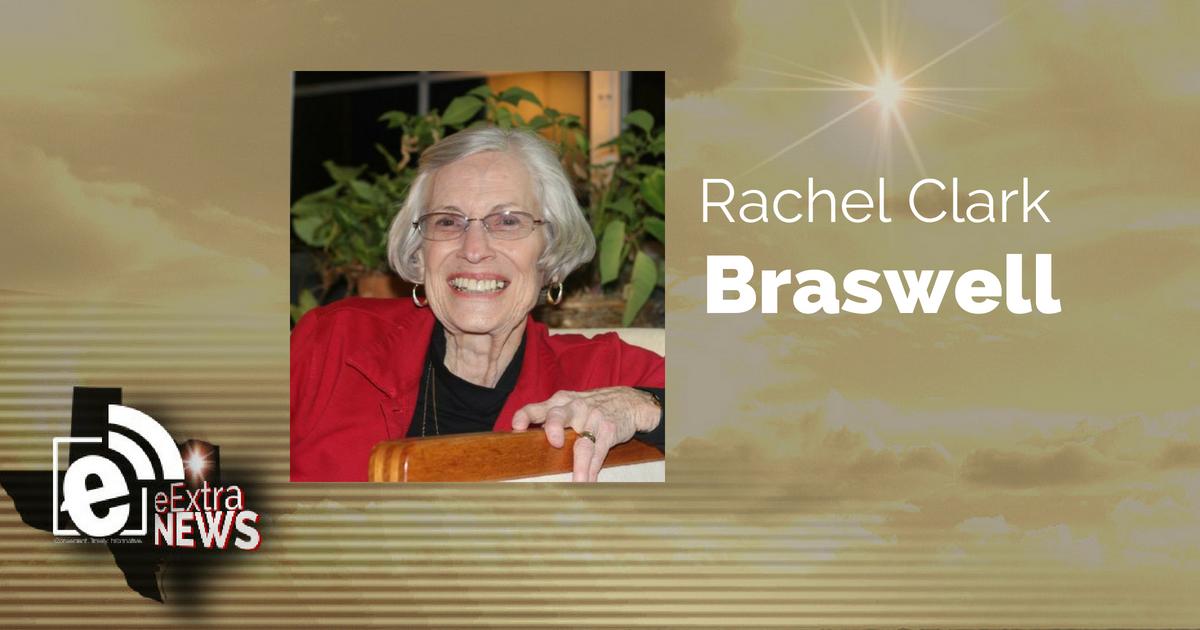 Rachel Clark Braswell of Paris, Texas formerly of Blossom