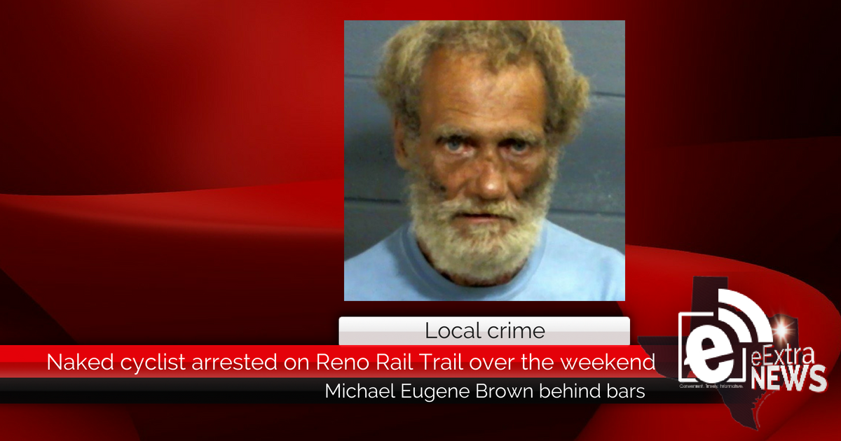 Naked cyclist arrested on Reno Rail Trail over the weekend