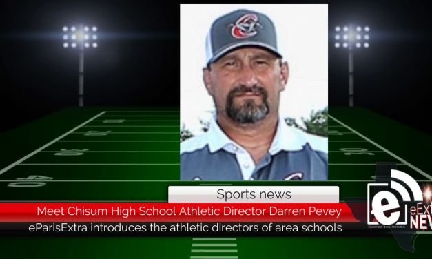 Meet Chisum High School Athletic Director Darren Pevey